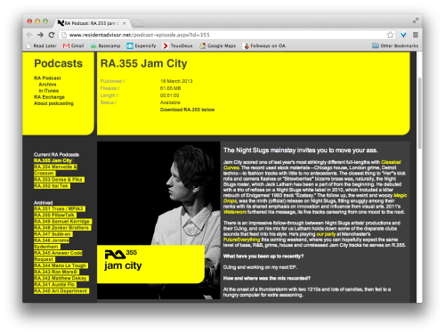 Jam City Resident Advisor Podcast