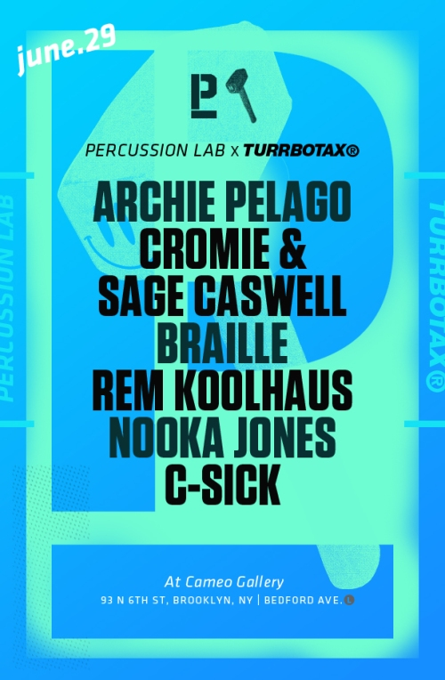 TURRBOTAX® x Percussion Lab